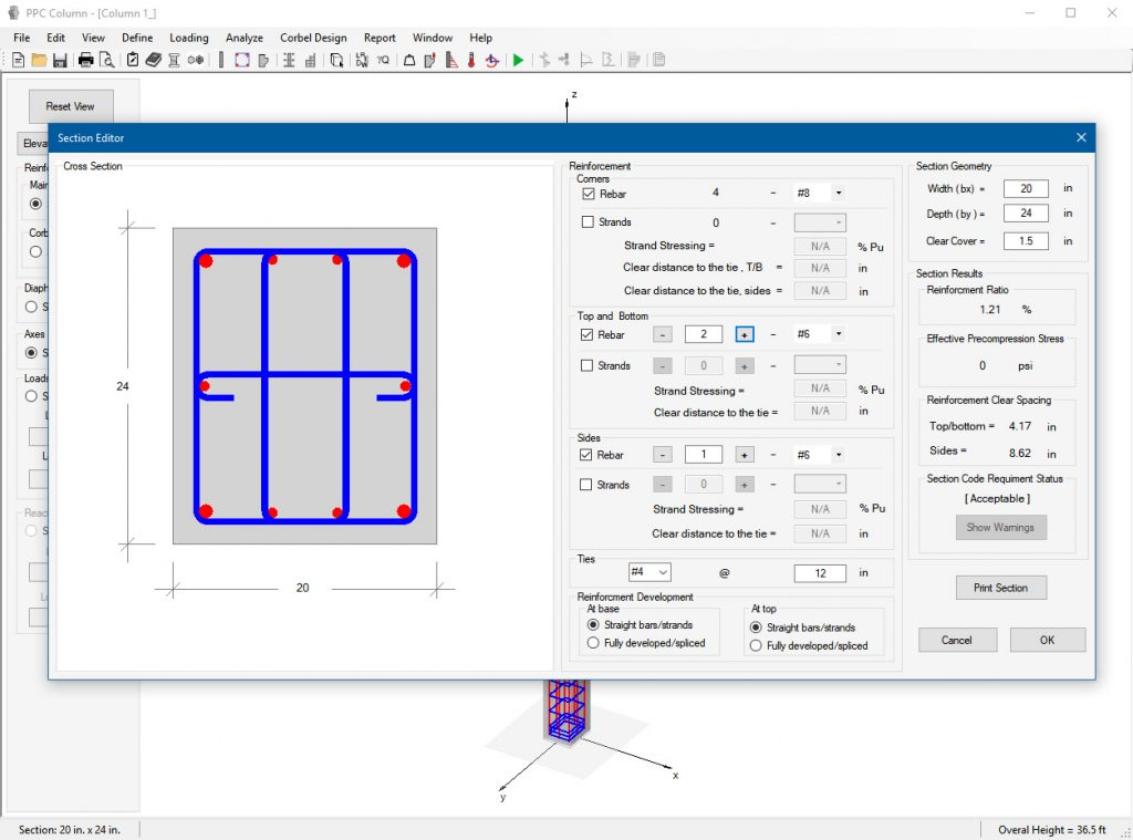 Precast Design Software